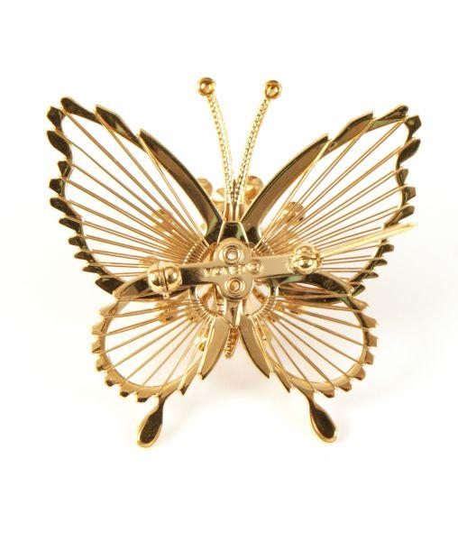 Monet butterfly brooch stamp