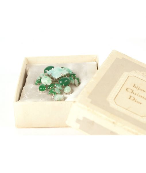 Dior brooch 1962 with box